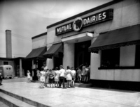 Mutual Dairies - one of the true icons of Ottawa East -  about 1954