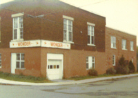 Walker's Bread  - corner of Simcoe and Evelyn - just before it was demolished about 1970