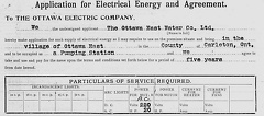 Agreement Electric 1905
