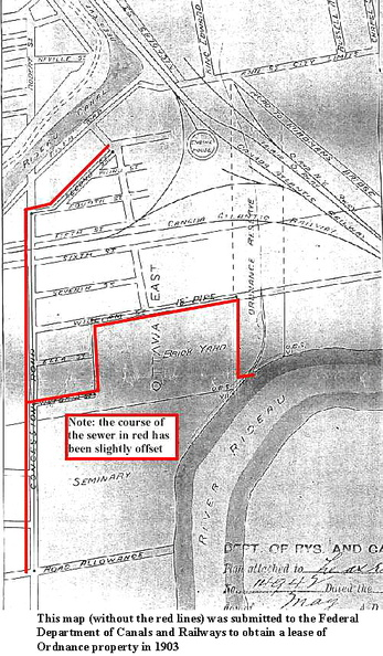 M Map Sewers 1903