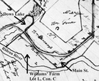 M Williams map 1828