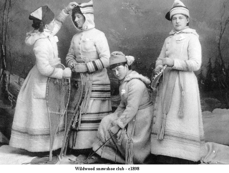 CA6712 Wildwood Snow Shoe Club c1898