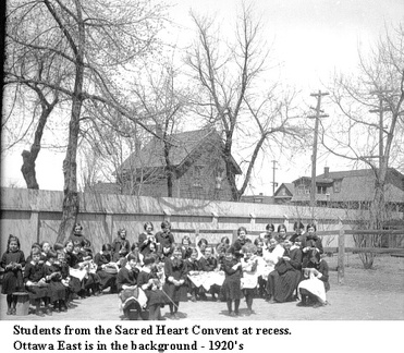 ssj 52 Sacred Heart convent students 1932