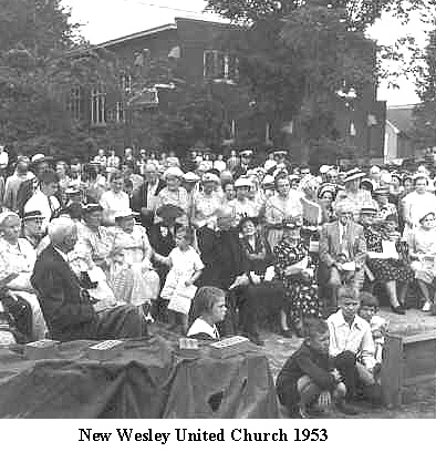 X Wesley 1953 even more crowd