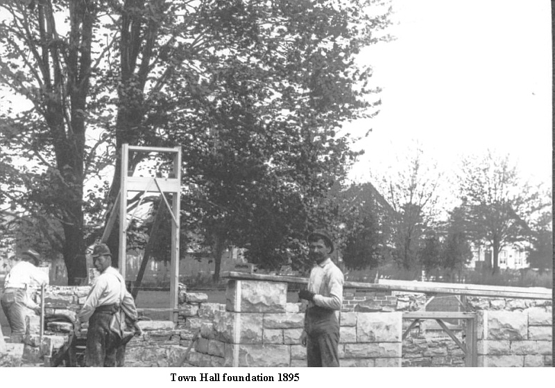 PA131975 Town Hall Foundation June1895